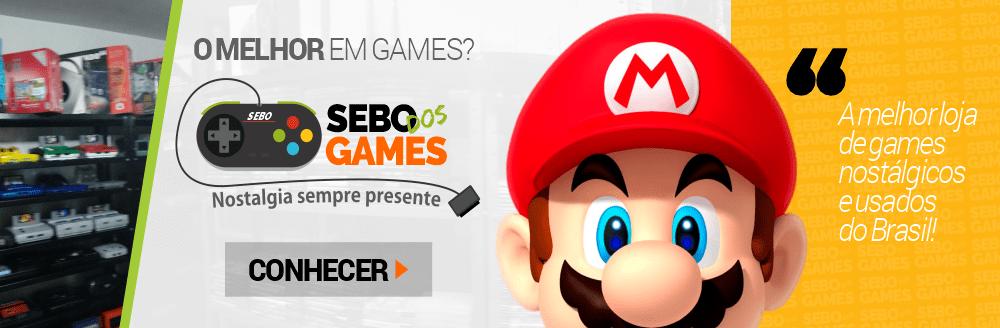Conheça a Sebo dos Games