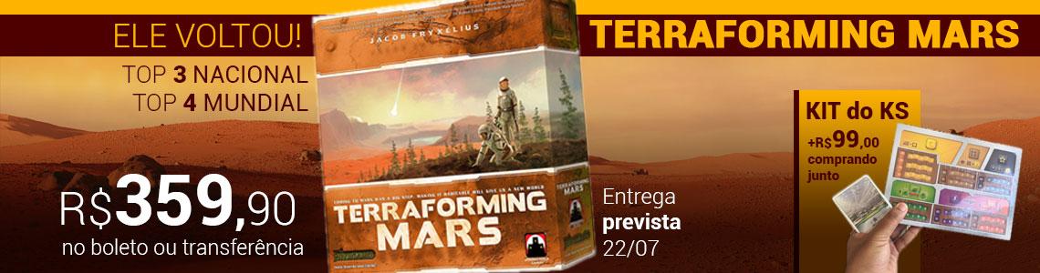 Terraforming mars (pré-venda)