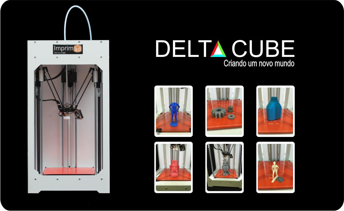Impressora 3d Delta Cube