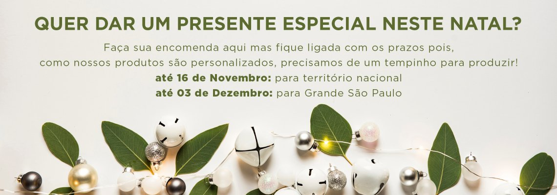 Encomendas de Natal 2018