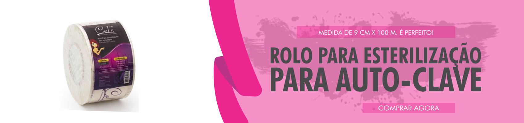 ROLO PARA ESTERILIZAÇÃO EM AUTOCLAVE - 0,9 M x 100 M