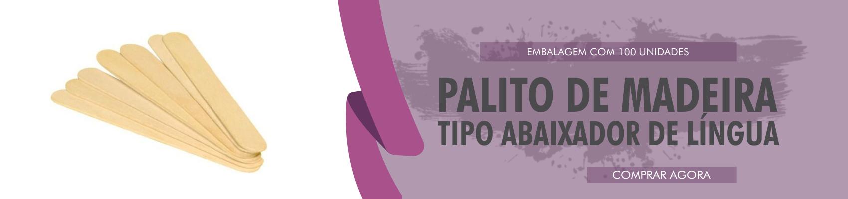 PALITO EM MADEIRA - TIPO ABAIXADOR DE LÍNGUA