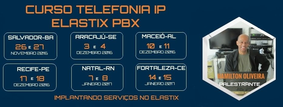 Curso Telefonia IP com Elastix PBX