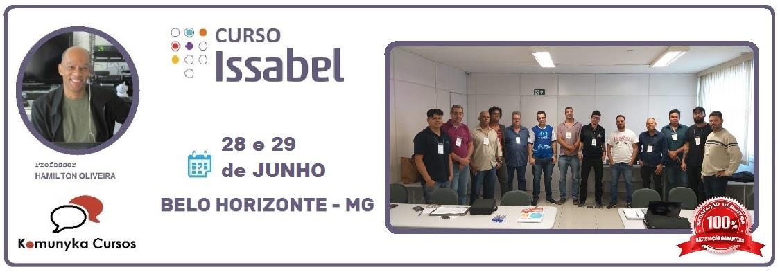 Curso de Issabel PBX IP na Prática em Belo Horizonte - MG 3º Turma