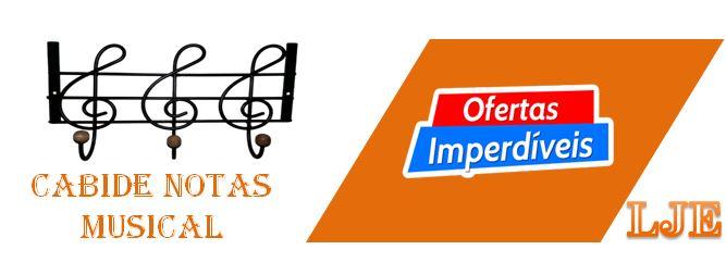 CABIDE DE FERRO NOTAS MUSICAIS