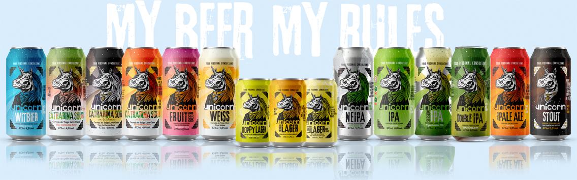 My Beer My Rules Unicorn
