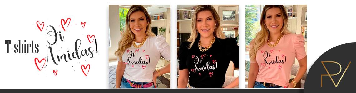T-shirts Oi Amidas