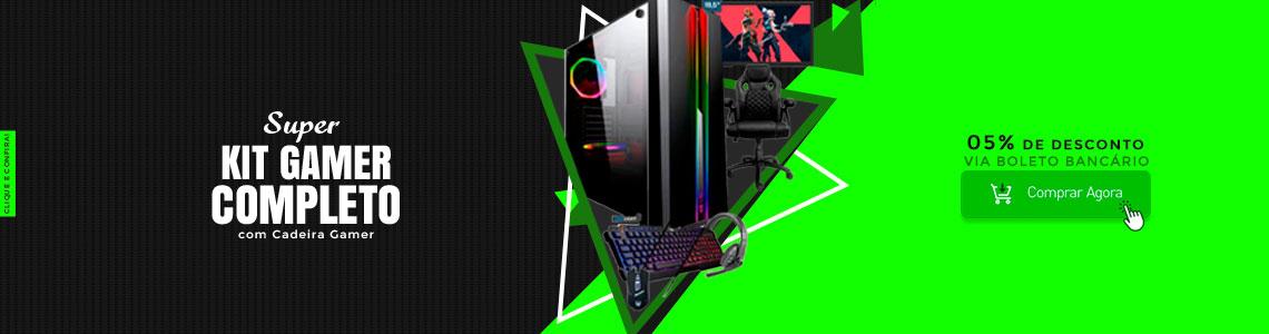 PC Gamer completo com cadeira