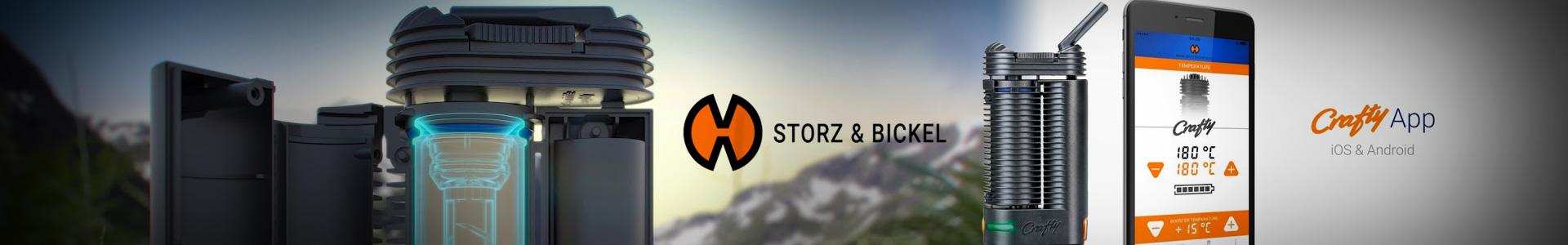 Vaporizador de Ervas Extrato Crafty+ Storz & Bickel