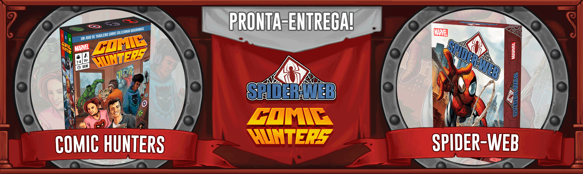 Comic Hunters e spider