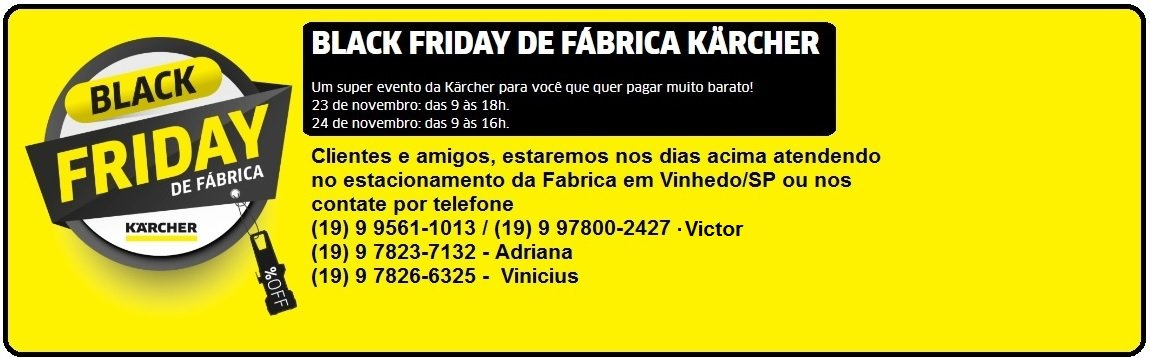 Black Friday Karcher
