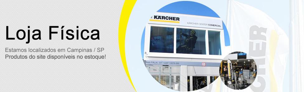 Lavadoras de alta pressão Karcher loja física