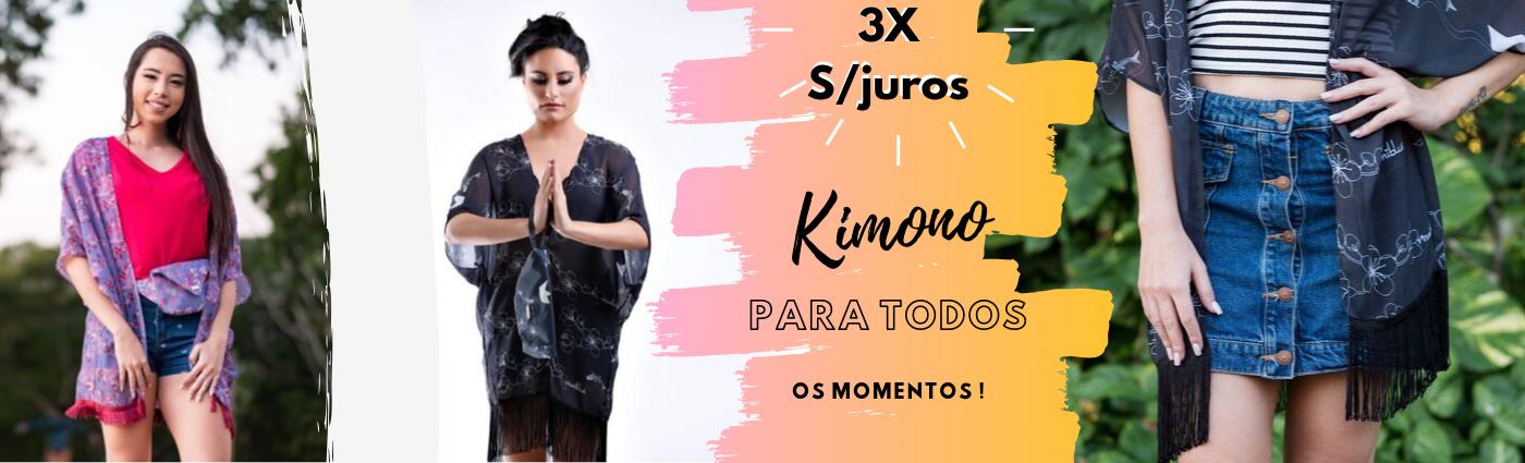 kimono estampado naniblue
