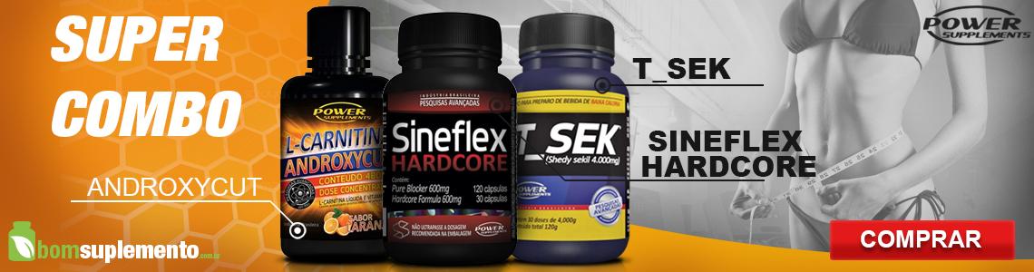 Sineflex Hardcore, T_Sek e Androxycut