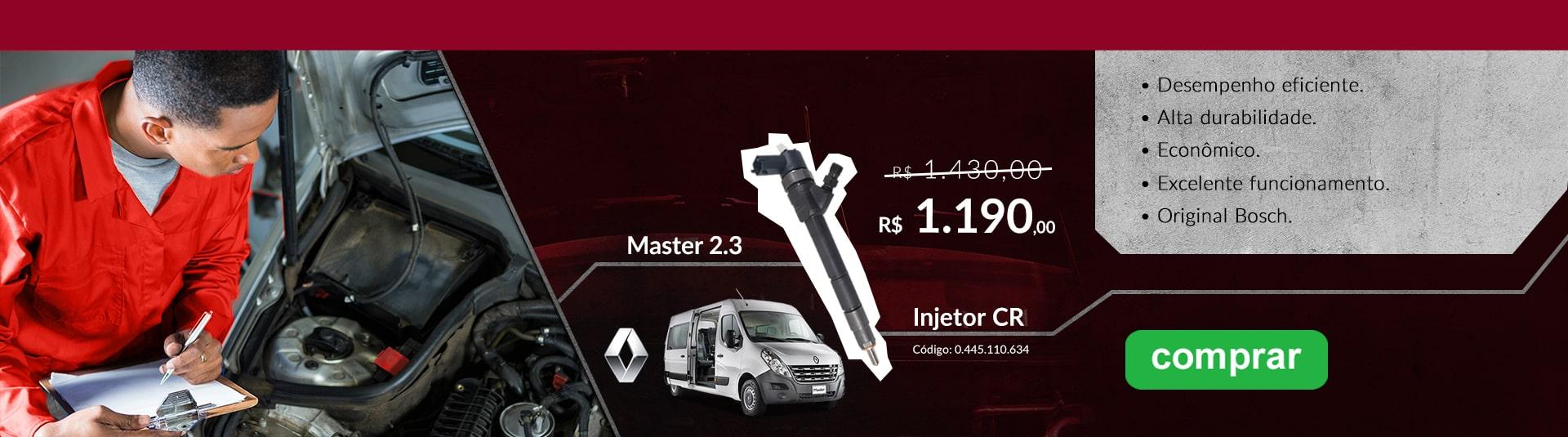 Injetor Master 2.3 Cód.110.634 (PROMO)