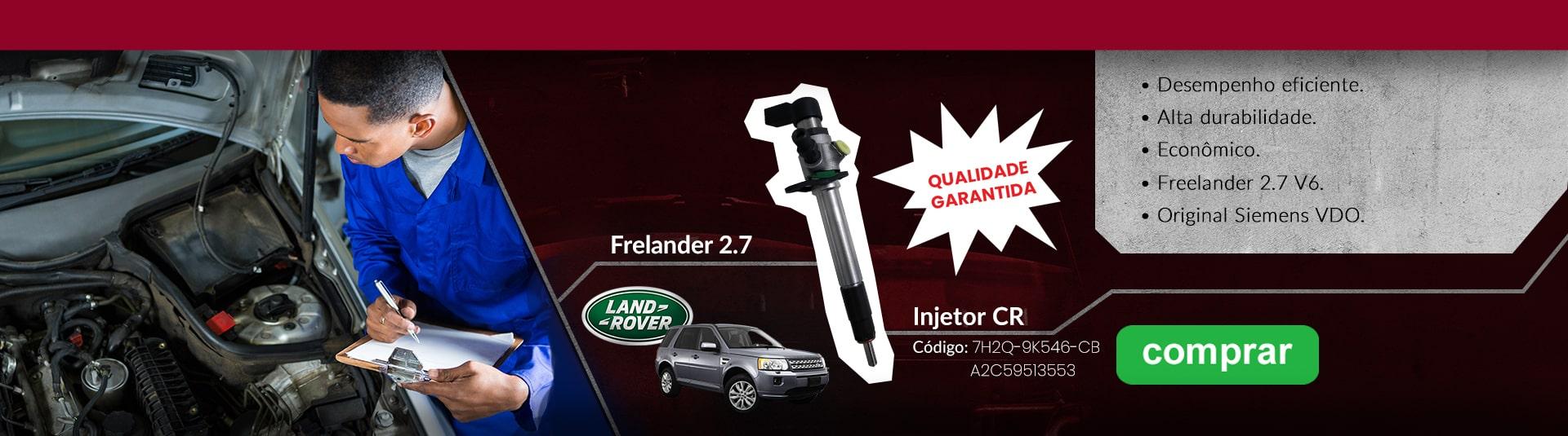 Injetor Freelander 2.7 Cód.9K546-CB