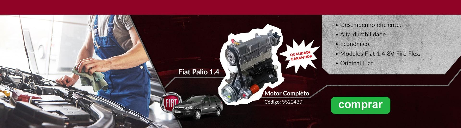Motor Fiat Palio 1.4 Cód.55224801