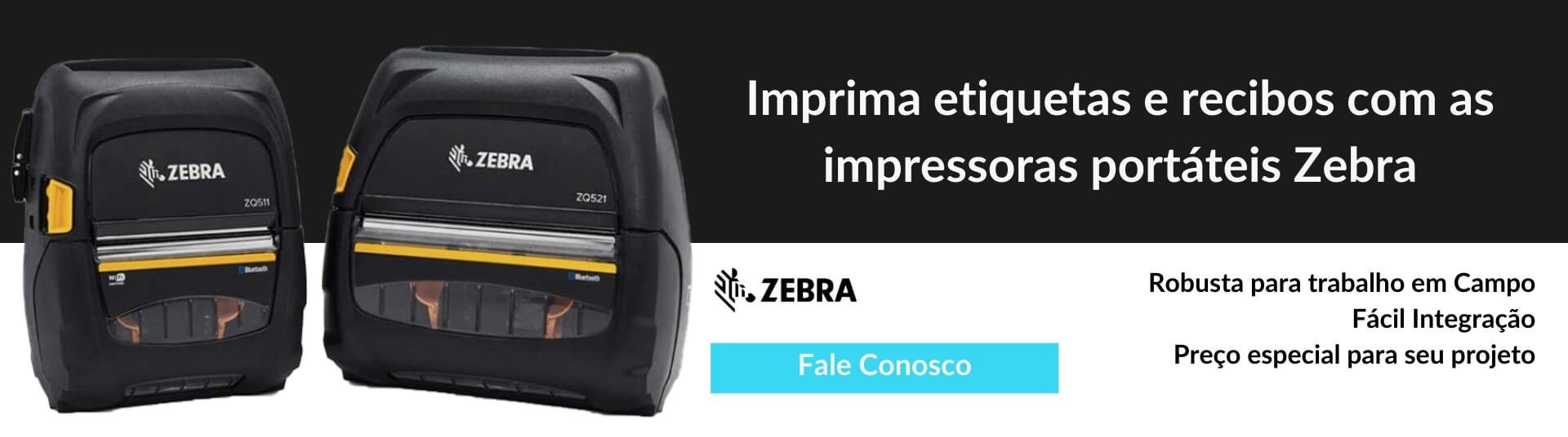 Impressora Portatil Zebra