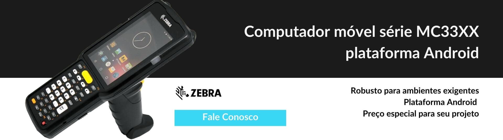 Coletor de dados MC3300 Zebra