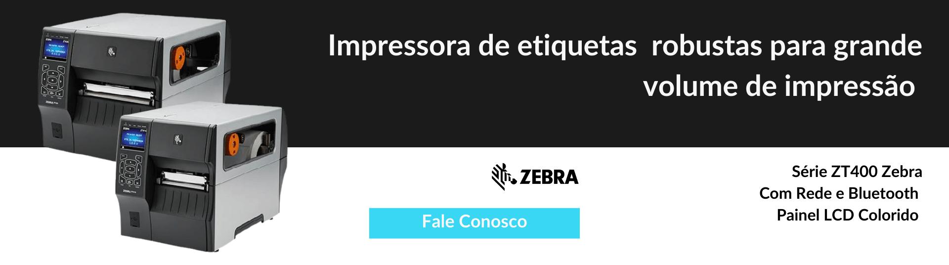 Impressora de etiquetas ZT411 Zebra