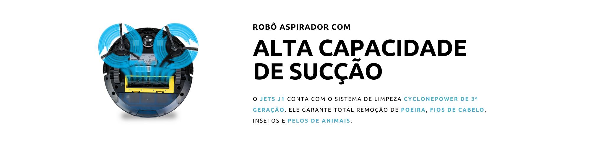 JETS J1 - ALTA CAPACIDADE DE SUCÇÃO