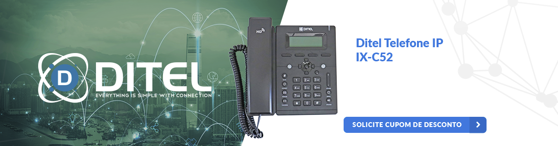 Ditel Telefone IP IX-C52
