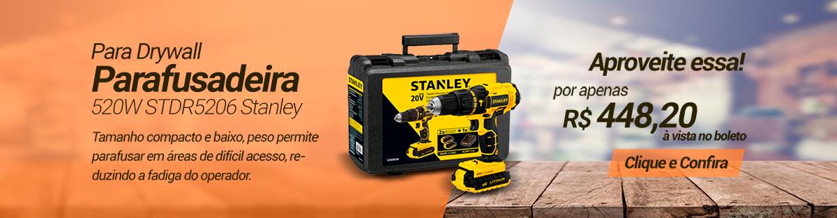 Parafusadeira para Drywall - Stanley Parafusadeira para Drywall - Stanley - Imagem 1  Parafusadeira para Drywall - Stanley - Im