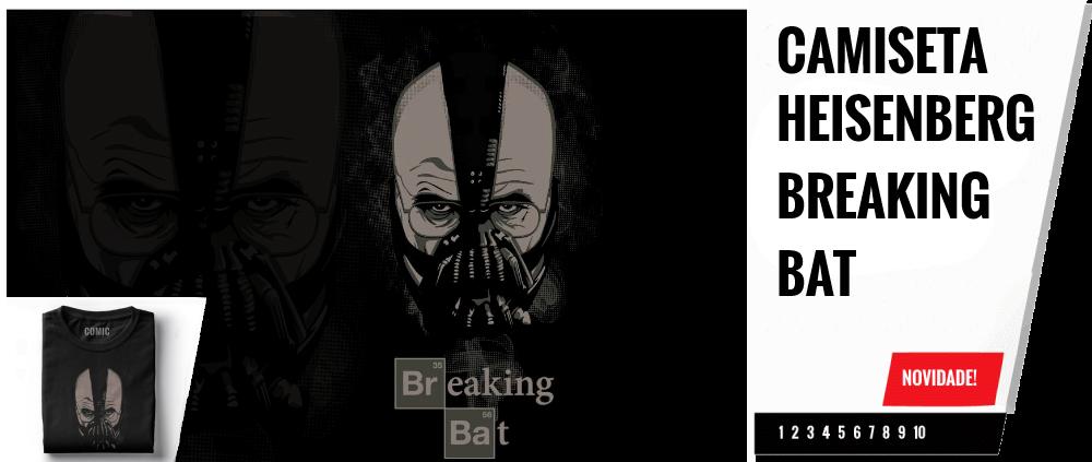 Camiseta Heisenberg Breaking Bat