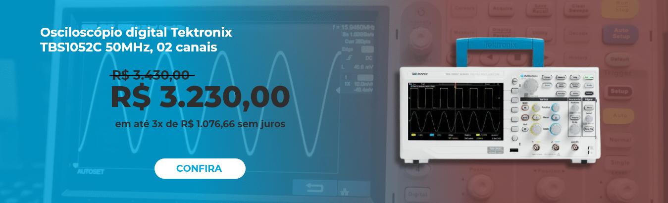 Osciloscópio preço