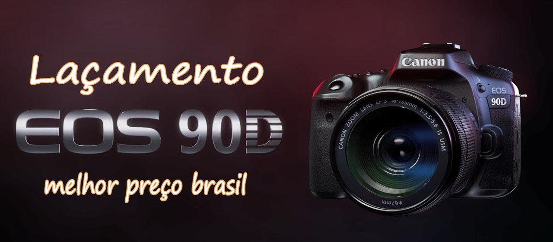 Canon 90d lançamento