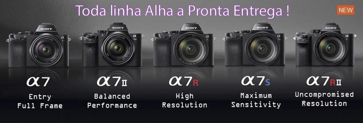 Linha Sony alpha