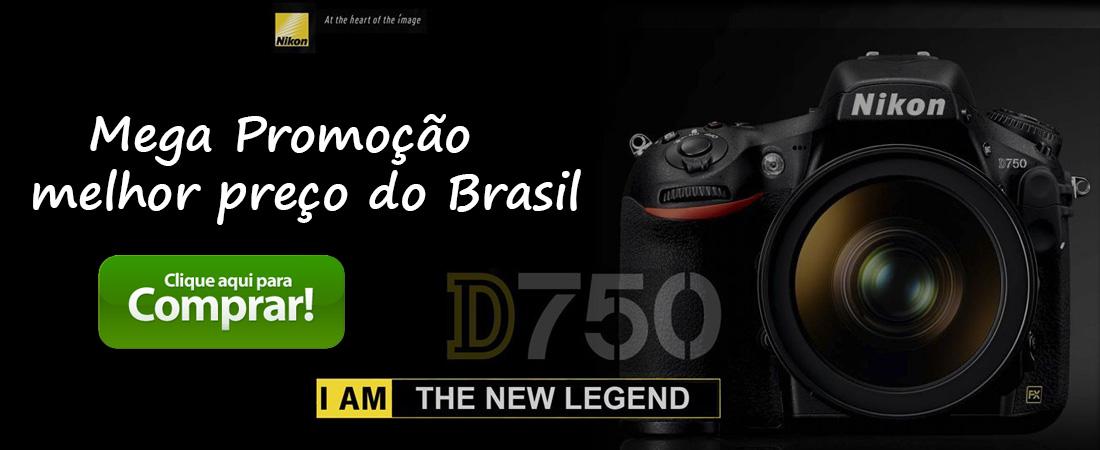 Nikon D750 preço