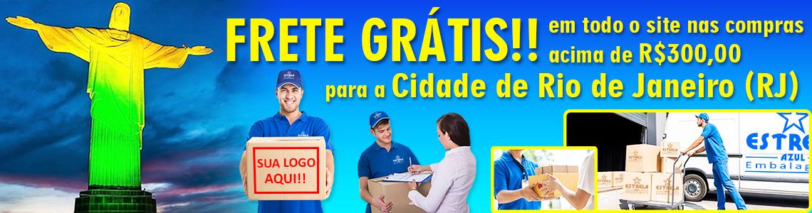 Frete Grátis Estrela Azul Embalagens RJ