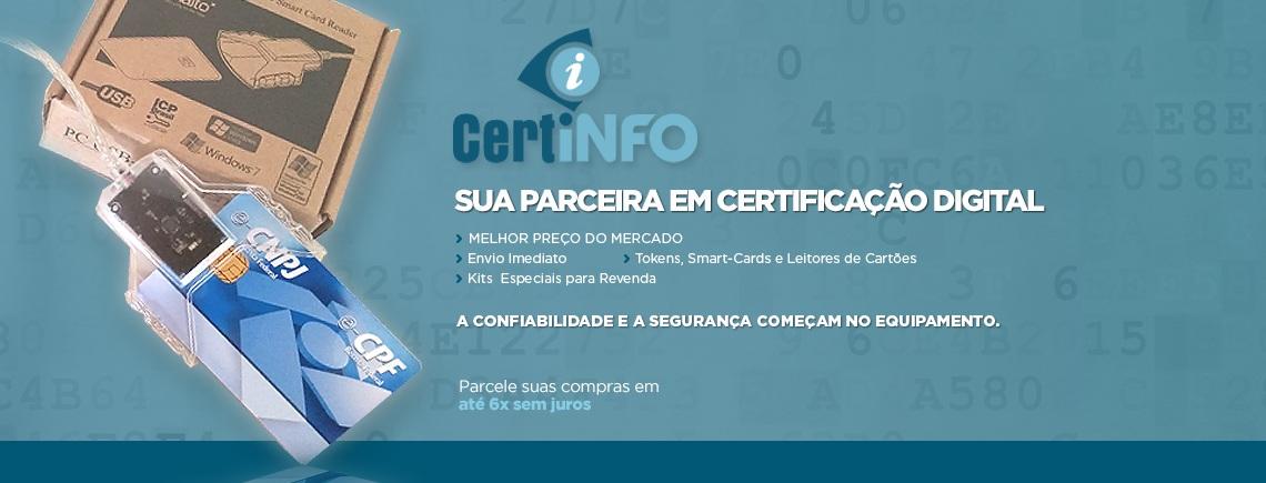 Leitor para certificado digital