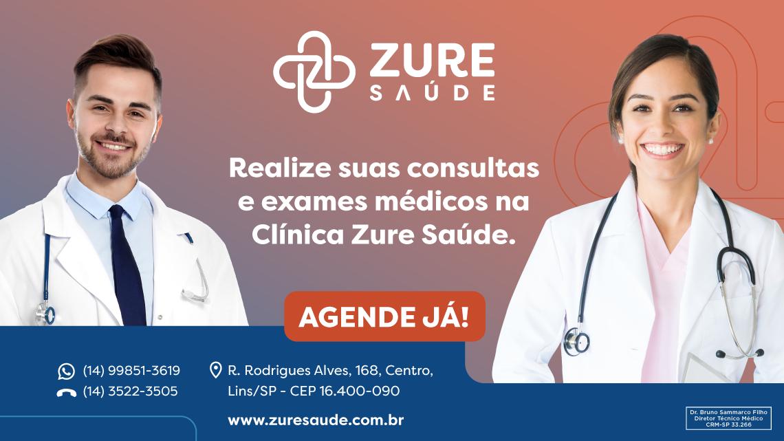 Banner Clínica Zure Saúde