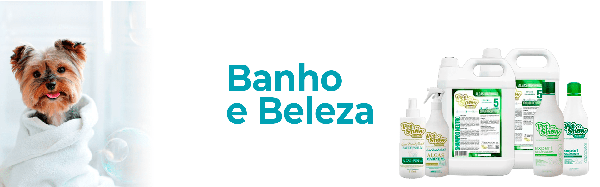 Banhoe e beleza - categoria  @Desktop