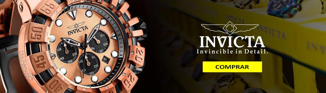 Invicta Relógios Dourado