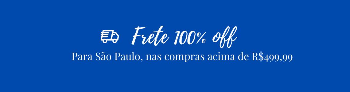 FRETE GRÁTIS PARA SÃO PAULO 100OFF