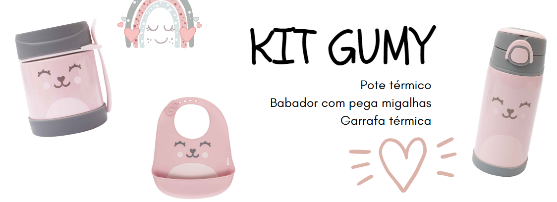 kit gumy rosa
