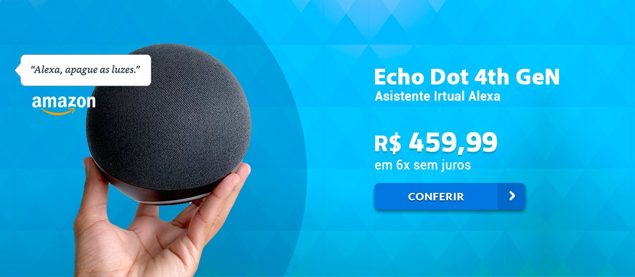 Banner Alexa Echo dot 4