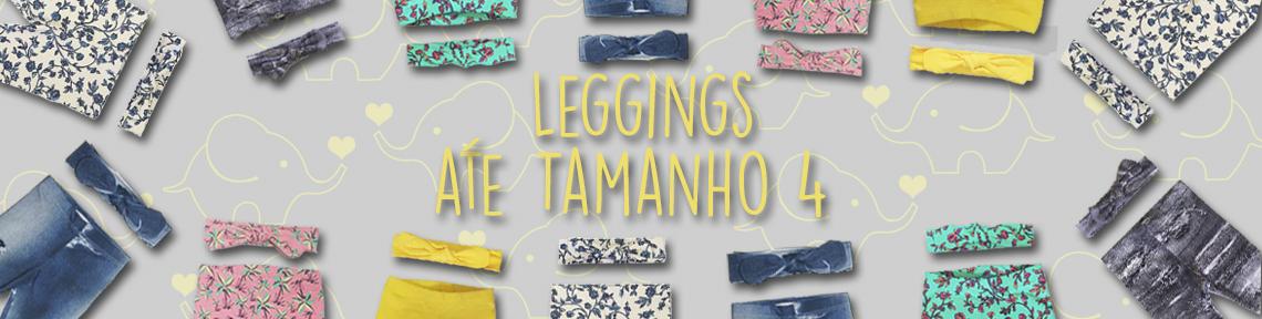 Leggings até 4 anos