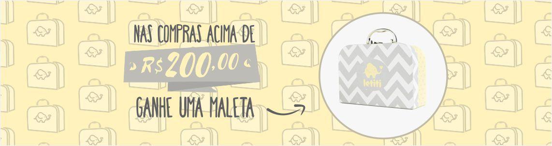 MALETA AMARELA - 3º - ACIMA DE R$200,00 - FULL
