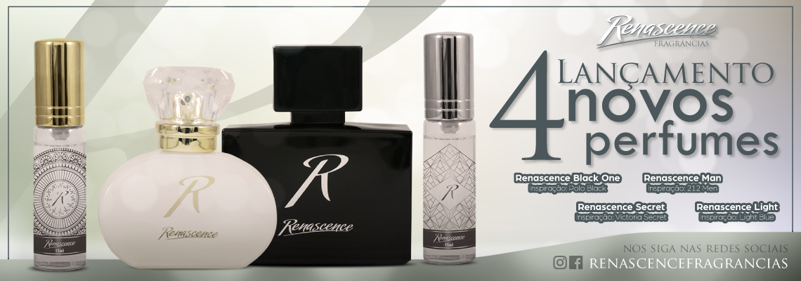 Banner Lancemento 4 perfumes
