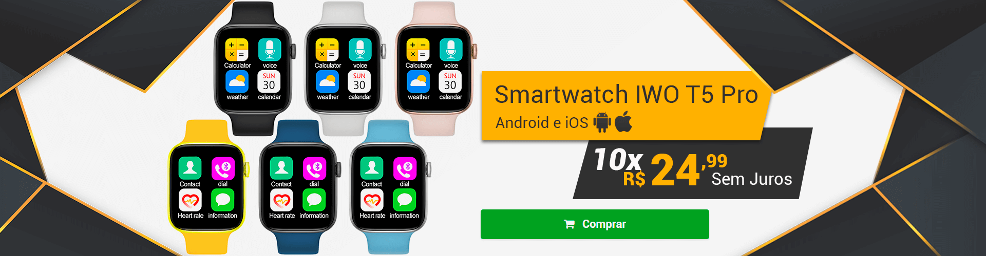 [Home] SMARTCHWATCH IWO T5 PRO