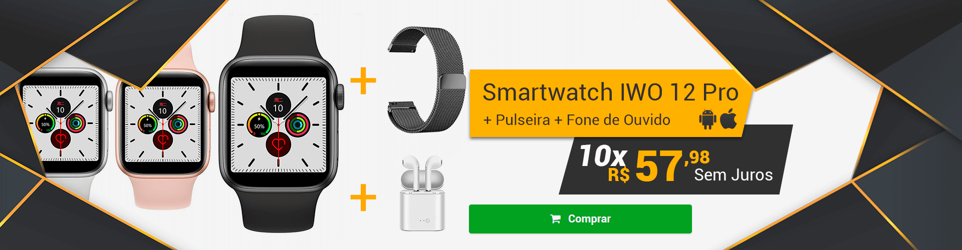 [Home] SMARTCHWATCH IWO 12 PRO