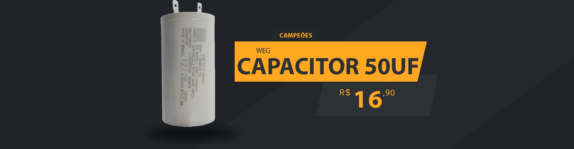CAMPEÕES CAPACITOR 50UF