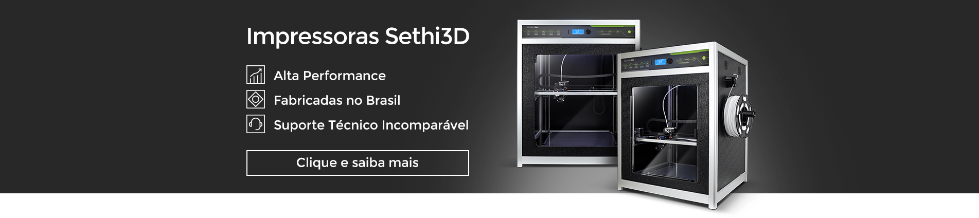 Impressoras Sethi3D 2021