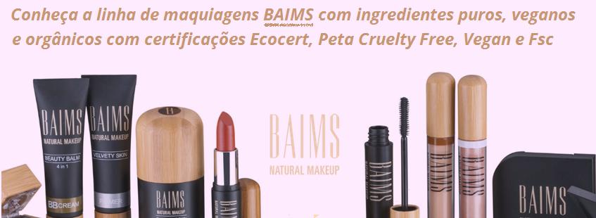 Maquiagem Baims