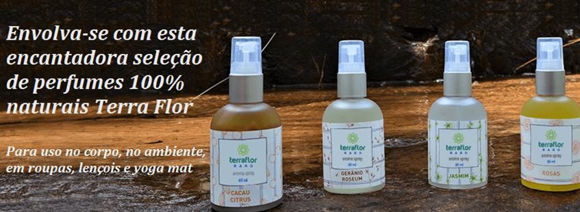 Perfumes Naturais Terra Flor