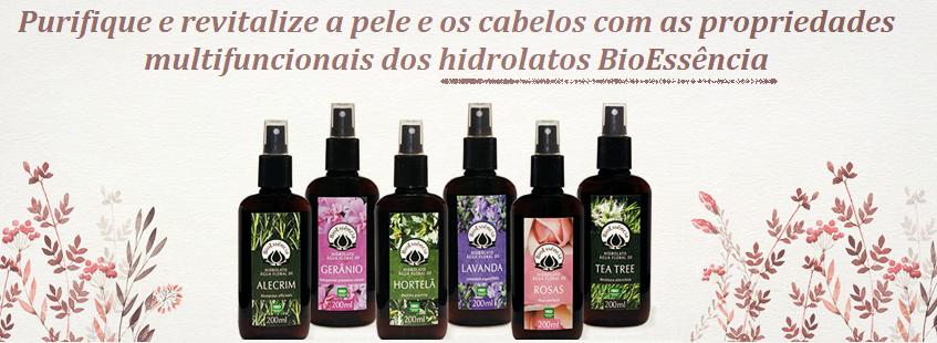 Hidrolatos BioEssência